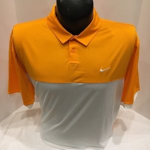 Adult Nike Golf Collard Polo Dri Fit T-Shirt